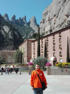 L'Eloy a la muntanya de Montserrat
